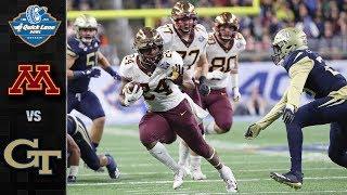 Minnesota vs. Georgia Tech Quick Lane Bowl Highlights (2018)