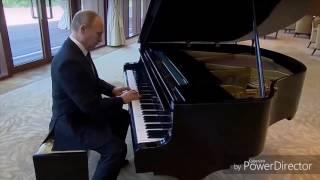 Vladimir Putin plays USSR/Soviet/Russian Anthem on Piano