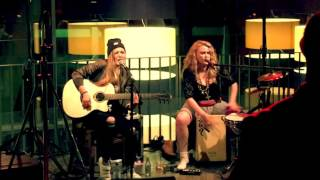 Subway Girls live jam - Kiss by Prince, Frankfurt, Heidi Joubert & Kiddo Kat