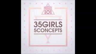 [PRODUCE 101 - 35 Girls 5 Concepts] 화려강산 (Hualyeogangsan) - Don't Matter