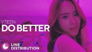 Y TEEN (MONSTA X & COSMIC GIRLS) - Do Better (Line Distribution)