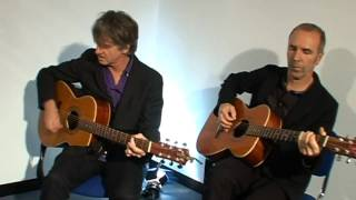 Crowded House exclusive acoustic of Saturday Sun