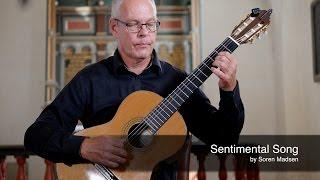 Sentimental Song (Soren Madsen) - Danish Guitar Performance - Soren Madsen