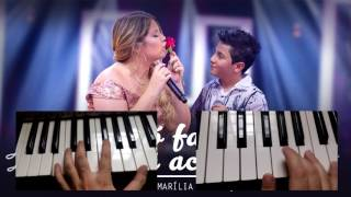 Só Falta Você Aceitar Hugo Henrique e Marilia Mendonça no piano/teclado SIMPLES  cover