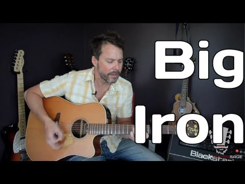 How To Play Big Iron By Marty Robbins - Guitar Lesson Chords - Chordify
