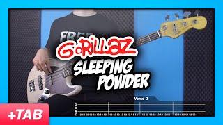 Gorillaz - Sleeping Powder | Bass Cover + Live Tabs