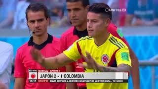 Mundial, Grupo H: Japón 2 – 1 Colombia