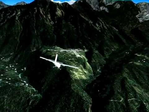 DHC-6 Into Lukla, Nepal VNLK, in FSX