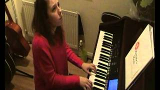 Zantelle Madden - Razor Light Golden Touch piano