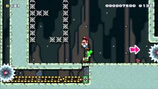 Mario Maker Level - Yoshi Must Live