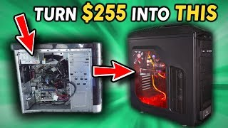 Building a $255 USED Gaming PC in 2019...!