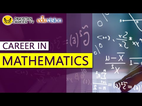 Career in Mathematics