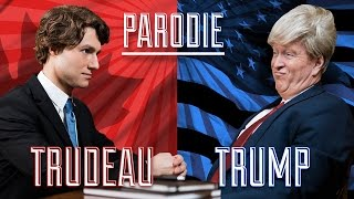 JUSTIN TRUDEAU vs DONALD TRUMP