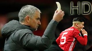 Mourinho Gives a Banana to Marcos Rojo in The Middle of The Game!!! HD