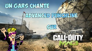 Un gars chante Advanced Punchline sur MW3 | [FR] [HD]