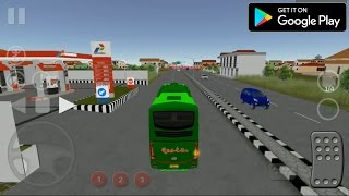 BUS SIMULATOR INDONESIA ANDROID GAMEPLAY [OM TELOLET OM] width=