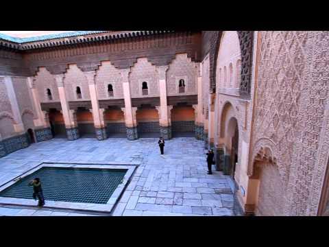 Morocco Marrakech Ben Youssef Madrassa