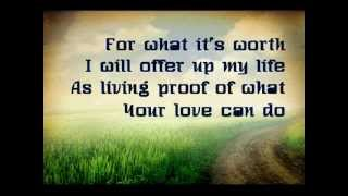 For What It's Worth - Sidewalk Prophets