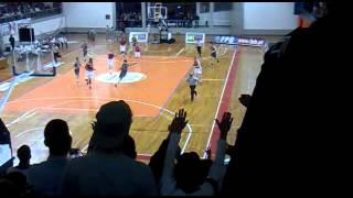"""Jogo Vitória x Benfica (Basket): Grande Ambiente!! """"VSC, A minha fé"""""""