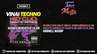 Pursuit Of Happiness vs  Techno vs  Welcome To The Jungle (Hardwell Mashup)