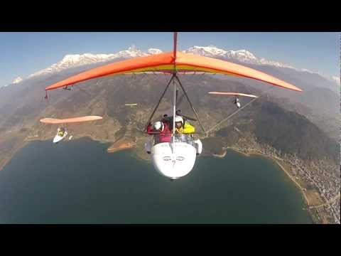 Flight in Nepal