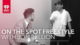 Jon Bellion Live Freestyle Rap & Interview