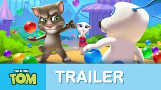 Talking Tom Bubble Shooter - Official Trailer