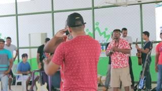 Baruk em apresentação na Casa do Hip Hop de Imperatriz