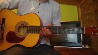 Como tocar dios hablame en guitarra