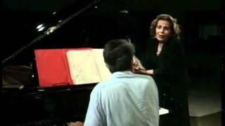 Amália Rodrigues e Alain Oulman - Studios Valentim de Carvalho , 1989