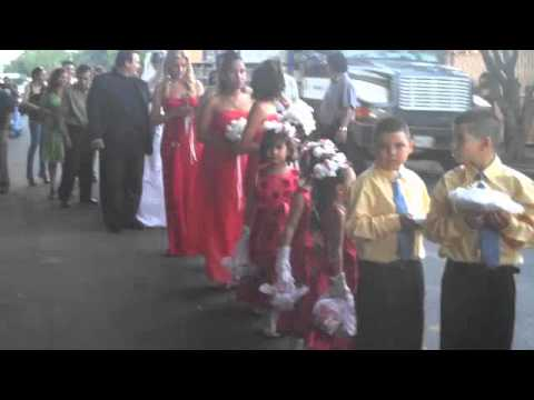 Nicaragua Wedding Parade Tradition for Judith