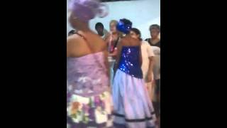 Pomba gira sete estradas no Igba Ase Omo Oya Afefe Orum