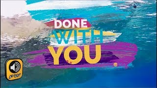 G. Voudouris -  Done With You (Official Lyric Video)