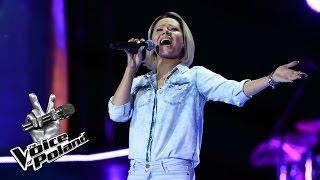 """The Voice of Poland VII – Ania Karwan – """"Purple Rain"""" – Przesłuchania w ciemno"""