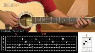 videoclase Não Olhe Pra Trás (aula de violão completa)