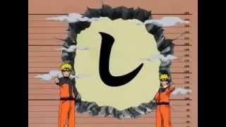 Naruto grande se encuentra con Naruto pequeño (sub.español)