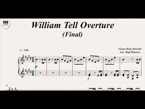 Comment jouer l'Ouverture de Guillaume Tell au piano