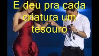 Zezé Di Camargo e Luciano Part: Paula Fernandes - Criação Divina (Com Letra)