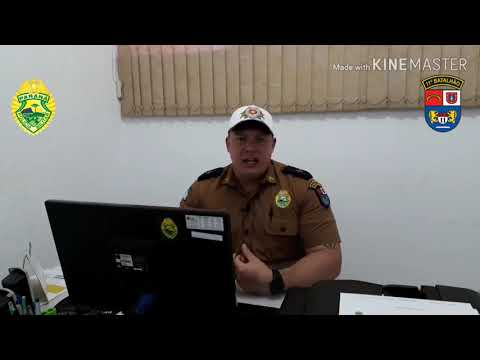 Tenente Duarte faz alguns esclarecimentos sobre ocorrências de embriaguez