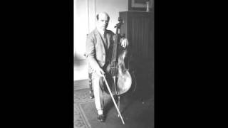 Pablo Casals - 1. Prelude from Cello Suite No.2 in D minor, BWV 1008, By J.S. Bach