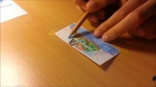 Speed drawing Lava; a Pixar short