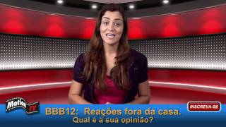 BBB12: Luan Santana, Luiza, Fãs de Claudia Leitte e Justin Bieber irritados.