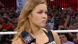Ronda Rousey Making Her WWE Debut as Surprise Entry at the 2018 Royal Rumble!?