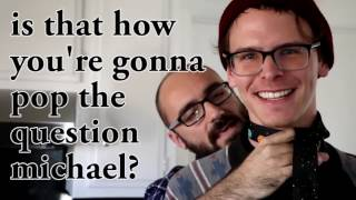 iDubbbz and Michael's Developing Relationship (iDubbbz Unexpectedly Visits Vsauce Michael)