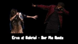 Erza Et Gabriel - Sur Ma Route (Live Crédit Mutuel)