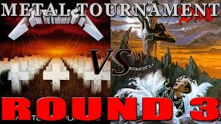 Metallica VS. Dio - Metal Tournament: Round 3