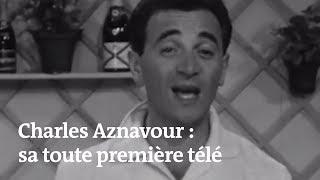 Charles Aznavour, son premier passage télé