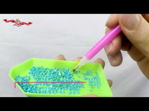 立體鑽石貼畫使用教學影片 - YouTube