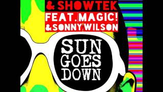 Sun goes down- David Guetta Audio
