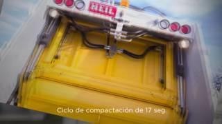 Camion de basura - Compactador de Carga Trasera PT1000A